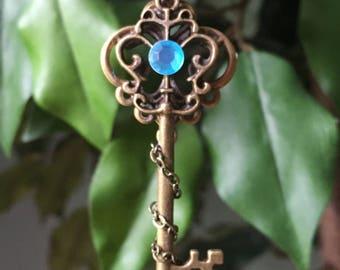 The Sky's The Limit Key Necklace