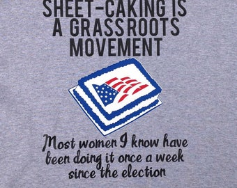 Sheet Caking Is A Grassroots Movement