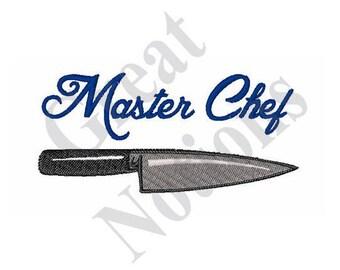 Master Chef - Machine Embroidery Design