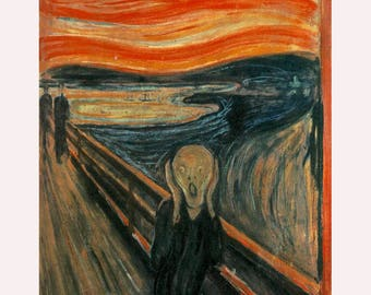 """Edvard Munch """"The Scream"""" -Oil Painting Museum Quality Reproduction"""