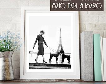 Vintage Vogue Enhanced Digital Art Print, 300 dpi 8x10, 11x14, & 16x20