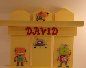 Childs Wall Shelf (3 Pickett)