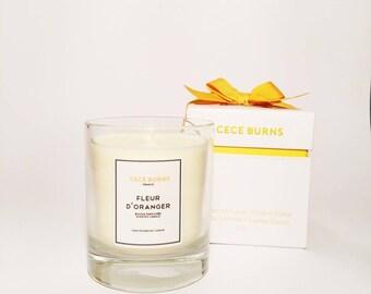 Fleur D'oranger Bougie parfumée en cire de soja 210g