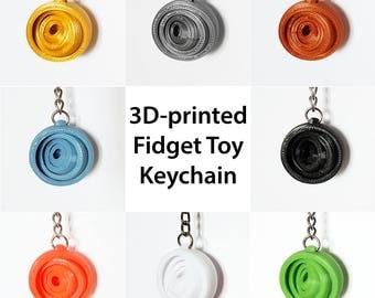 3D-printed Keychain Fidget toy