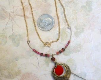 Rays of sun ooak handmade necklace /sun/solar/morning/