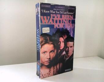 I've Been Waiting For You VHS (1997) - RARE Made-for-TV Slasher / Horror - Sarah Chalke, Ben Foster, Soleil Moon Frye