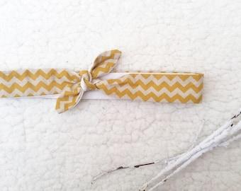 Headband tie size 2 3/12 months