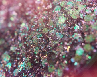 Sarai | Glitter Palette | Single Pan | Burlesque | Festival Eyeshadow Palette | Pink Glitter | Sparkle | Pressed Glitter Eyeshadow Palette