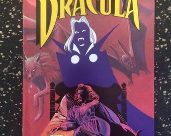 Blood Of Dracula # 2 Comic by Apple Comics