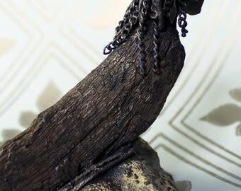 Mermaid - Mixed media Sculpture