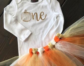 Fall First Birthday Outfit Girl,  Pumpkin Birthday, Pumpkin First Birthday, Pumpkin Patch, Little Pumpkin Set, Fall First Birthday