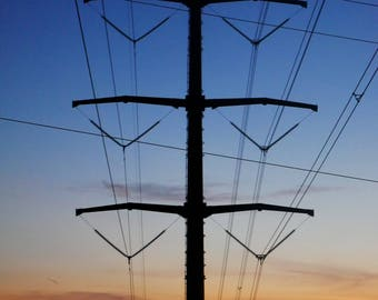 Color Photography, Nature Photography, Sunset - Power Set