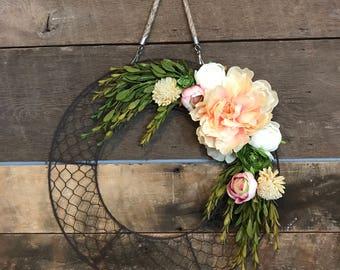 Chicken Wire Wreath