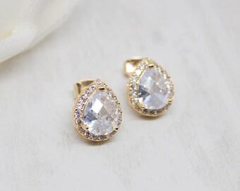 Earrings Gold-plated Wedding jewelry Earrings