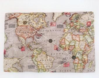 60cm x 40cm Large Fabric pin board / Memo Board / Message board / Bulletin Board