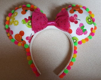 Minnie and mickey (tropical fruit) mouse ears