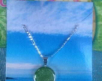 Mossy Green Necklace