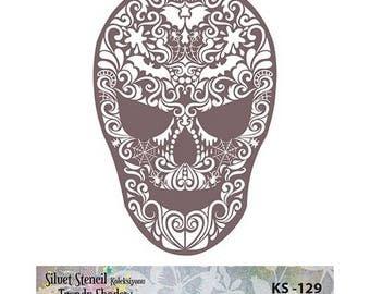 Stencil Masking, KS 129,  16x23 cm, mask stencils, fabric stencil.