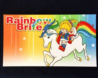 Rainbow Brite and Starlite Magnet