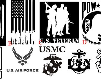 US Military Decals