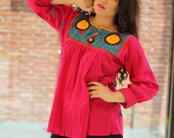 Mexican Bohemian blouse / blouse Rococo / blouse ethnic