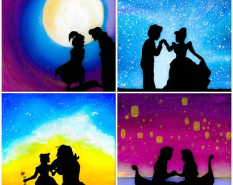 Disney Princess Art print