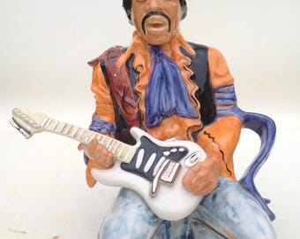 Jimi Hendrix Teapot limited edition of 50.