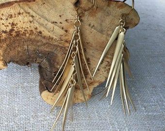 EARRINGS NATURAL BRASS earwires Base Metals