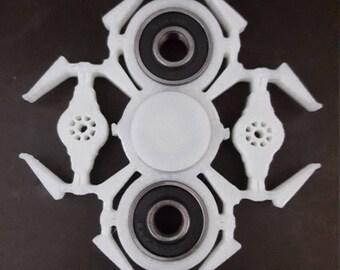 Glow in the Dark Tie Fighter Fidget Spinner | Black Fidget Spinner | Glow in the Dark Fidget Spinner | Star Wars Fidget Spinner