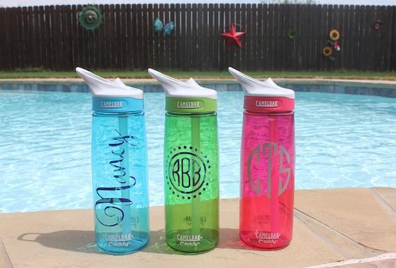 personalized camelbak water bottle monogrammed camelbak
