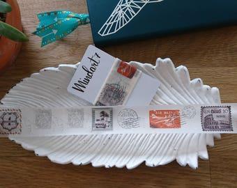 Washi Tape Sample 'Vintage Stamp' 1m