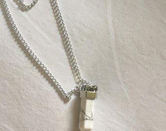 Multi-Layer Style, Semi-Precious Stone Necklace