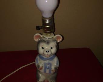 Teddy Bear Lamp Nursery Light