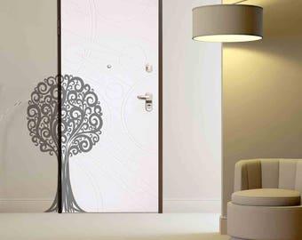 Tree - Wall sticker, glass sticker, wall decal, glass decal, home sticker, window sticker, door sticker, home decal, wall decor, wall art