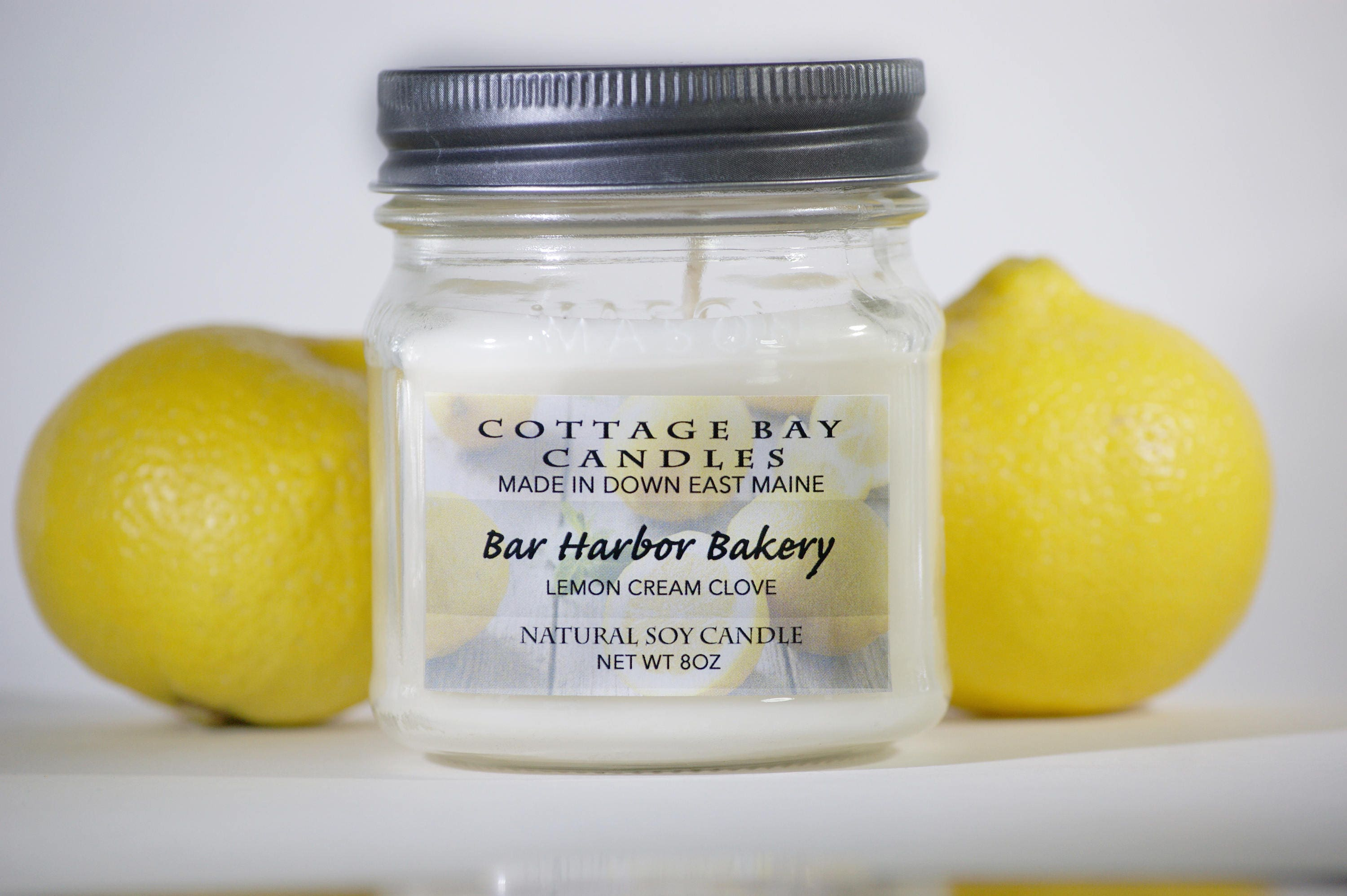 Bar Harbor Bakery | Soy Candle | Scented Candle | Handmade | Lemon ...