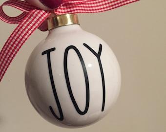 Custom Christmas Ornament | Ceramic Ornament