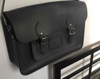 Olive Green Large Satchel Shoulder Bag