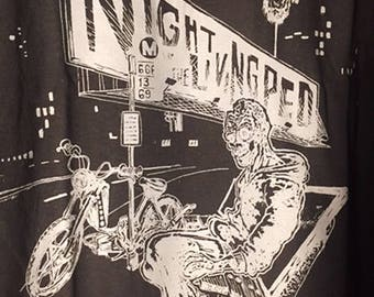 LARGE 2015 Night of the Living Ped rally t-shirts