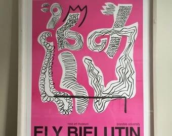 SALE: Russian Modern Artist Ely Bielutin Signed Poster