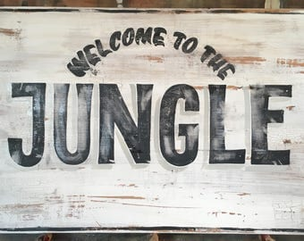 Garden Sign, Handpainted Sign, Shabby chic, vintage sign, home decor, mancave, gift ideas, signwriting