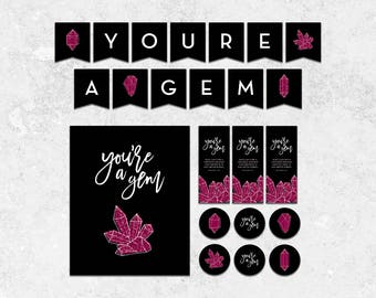 You're a Gem - Young Women in Excellence Instant Download Package