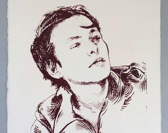 Edward Furlong Portrait