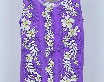 Vintage 70s floral vest M