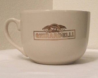Large 24 Oz Ghirardelli Coffee Cup Soup Bowl California Pantry