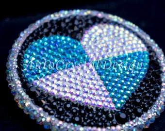BMW Boot & Bonnet Badge Individual Emblem Covered With High Quality Crystals
