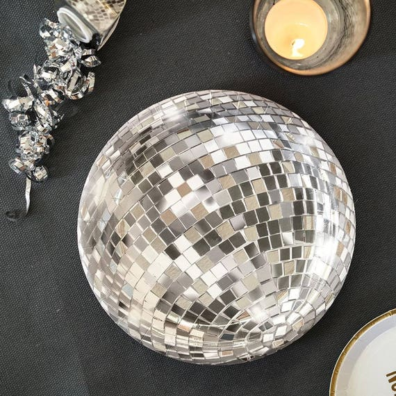 Glitterati Disco Ball Paper Plates Party Plates Disco Party New Years Eve Decor Christmas party Holiday season birthday plates from supersweetparty on ... & Glitterati Disco Ball Paper Plates Party Plates Disco Party New ...