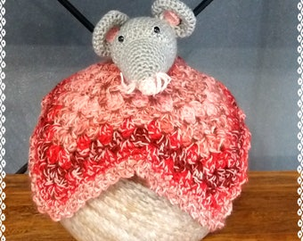 Toy mouse crochet, amigurumi