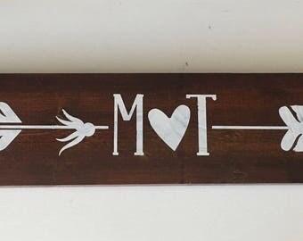 Wedding Gift Arrow Sign