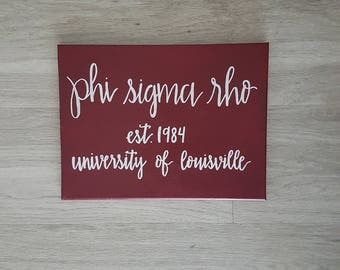 Custom Sorority Canvas, Big Little Sorority, Custom Canvas Quote, Quote Canvas Art, Sorority Canvas, Dorm Canvas