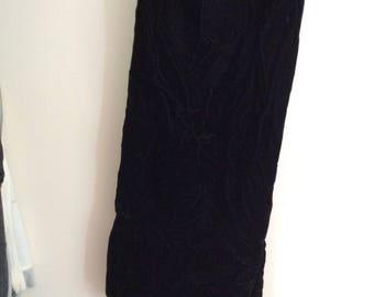 Scott McClintock velvet skirt